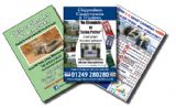Full Colour A6 Single Sided Leaflets